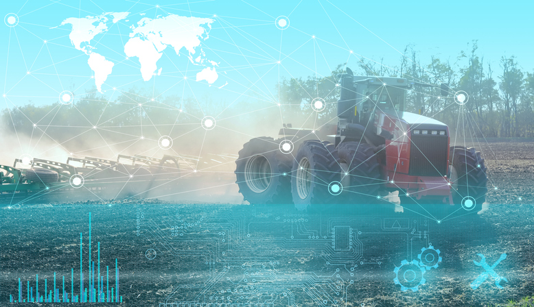 global food supply chain tractor